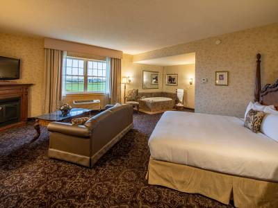 Studio Suites room at AmishView Inn & Suites