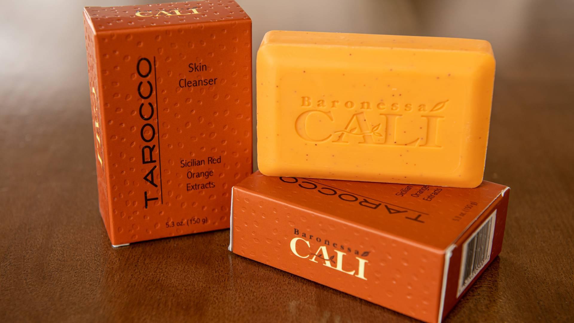 Tarocco Skin Cleaners with Exfoliate