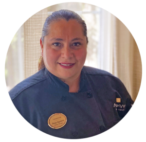Rosa Ortiz Aguilera, Kitchen Manager