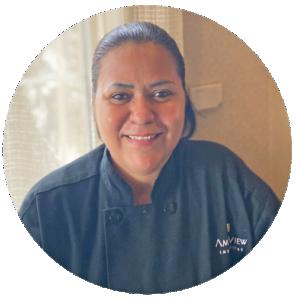 Siria Perez, Kitchen Supervisor