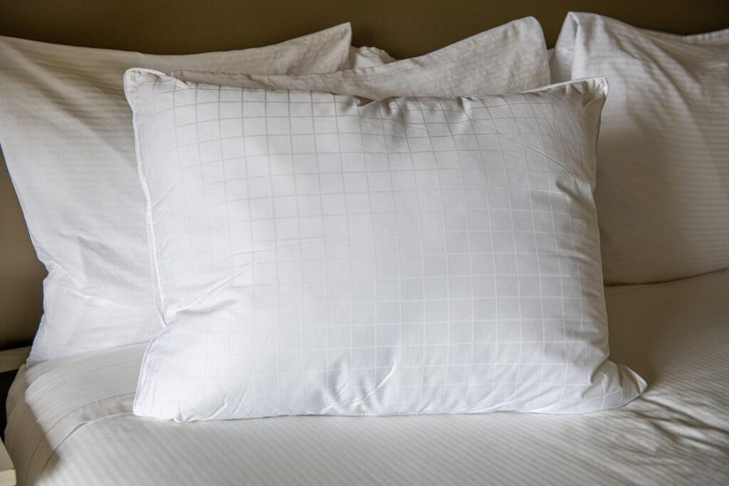 plush pillows at AmishView Inn & Suites